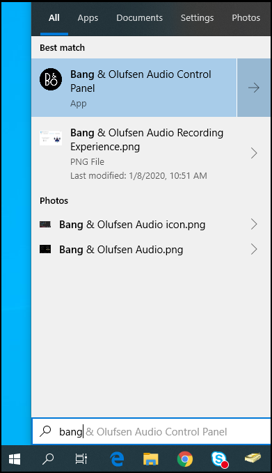 Search for Bang & Olufsen