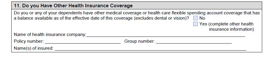 ET2301 Other Health Insurance
