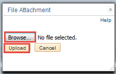 Upload Attachment